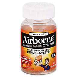 Airborne® 21-Count Original Immune Support Supplement Gummies in Orange