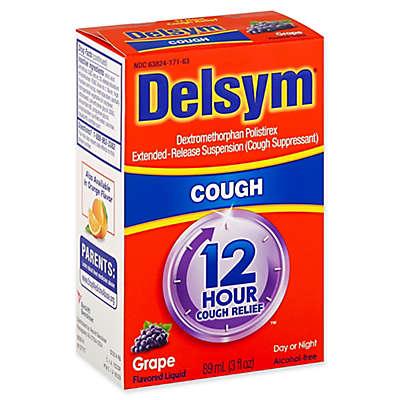 Delsym® 3 fl. oz. 12-Hour Liquid Cough Relief in Grape Flavor