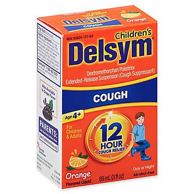 Delsym® Children's 3 fl. oz. 12-Hour Liquid Cough Relief in Orange Flavor