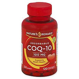 Nature's Reward 120-Count 100 mcg Absorbable CoQ-10 Quick Release Softgels