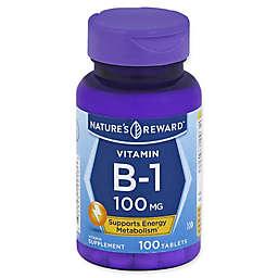 Nature's Reward 100-Count Vitamin B-1 Tablets
