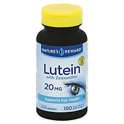 Nature's Reward 150-Count 20 mg Lutein with Zeaxanthin Quick Release Softgels