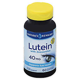 Nature's Reward 60-Count 40 mg Lutein with Zeaxanthin Quick Release Softgels