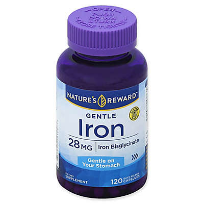 Nature's Reward 120-Count 28 mg Gentle Iron Quick Release Capsules