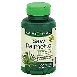 Nature's Reward 100-Count 1200 mg Saw Palmetto Quick Release Capsules
