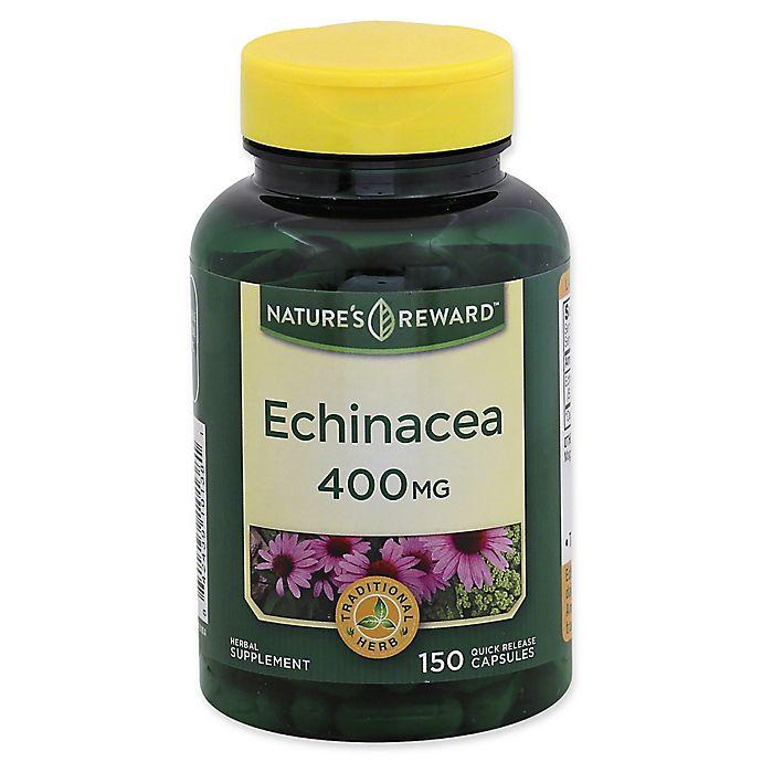 Alternate image 1 for Nature's Reward 150-Count 400 mg Echinacea Quick Release Capsules