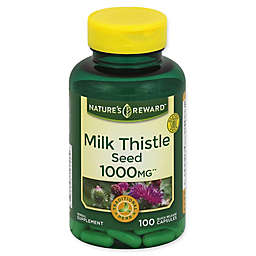 Nature's Reward 100-Count 1000 mg Milk Thistle Seed Quick Release Capsules