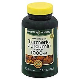 Nature's Reward™ 120-Count 1000 mg Turmeric Curcumin Complex Quick Release Capsules