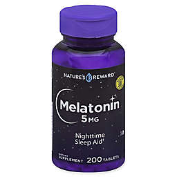 Nature's Reward™ 200-Count 5 mg Melatonin Tablets