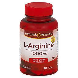 Nature's Reward 90-Count 1000 mg L-Arginine Coated Caplets