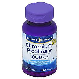 Nature's Reward 180-Count 1000 mcg Chromium Picolinate Tablets