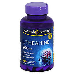 Nature's Reward 100-Count 200 mg L-Theanine Quick Release Capsules
