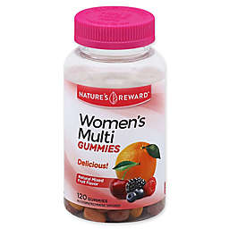 Nature's Reward™ 120-Count Women's Multivitamin Gummies in Natural Mixed Fruit Flavor