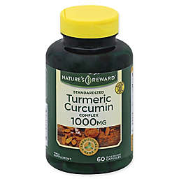 Nature's Reward™ 60-Count 1000 mg Turmeric Curcumin Complex Quick Release Capsules
