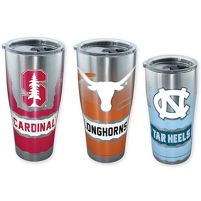 Alternate image 1 for Tervis® Collegiate Knockout Stainless Steel Tumbler with Lid