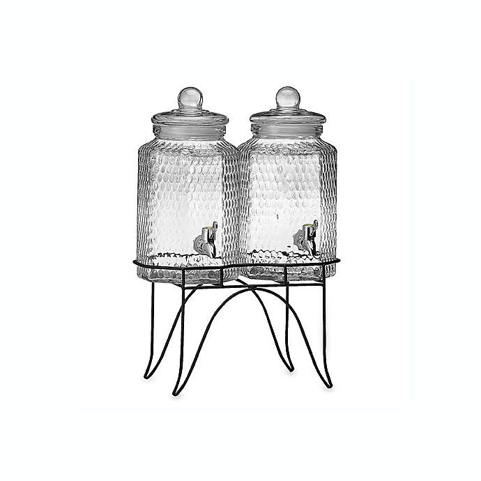 Alternate image 1 for Del Sol Double Beverage Jugs on Stand