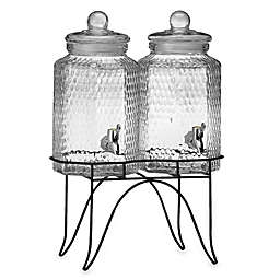Del Sol Double Beverage Jugs on Stand