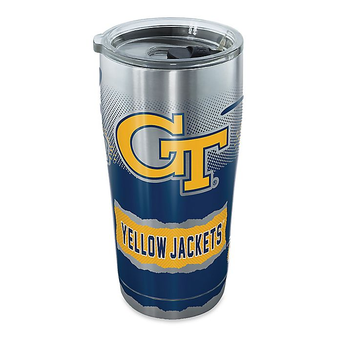 Alternate image 1 for Tervis® Georgia Tech Knockout 20 oz. Stainless Steel Tumbler with Lid