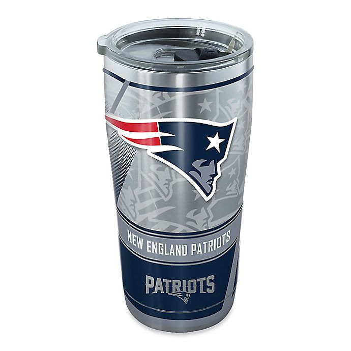 Alternate image 1 for Tervis® NFL New England Patriots 20 oz. Edge Stainless Steel Tumbler with Lid