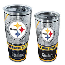 Tervis® NFL Pittsburgh Steelers Edge Stainless Steel Tumbler with Lid