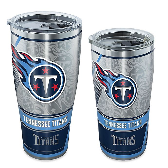 Alternate image 1 for Tervis® NFL Tennessee Titans Edge Stainless Steel Tumbler with Lid