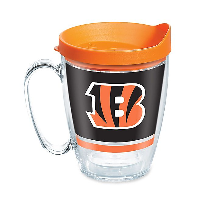 Alternate image 1 for Tervis® NFL Cincinnati Bengals Legend 16 oz. Wrap Mug with Lid