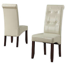 Simpli Home Cosmopolitan Dining Chair (Set of 2)