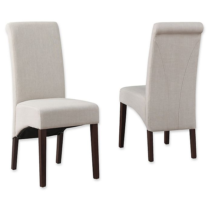 Alternate image 1 for Simpli Home Avalon Dining Chairs (Set of 2)