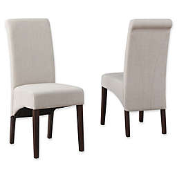 Simpli Home Avalon Dining Chairs (Set of 2)