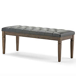 Simpli Home Waverly Tufted Bench