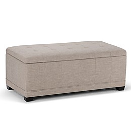 Simpli Home Westchester Storage bench