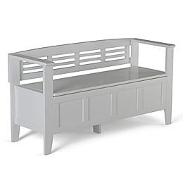 Simpli Home Adam 48-Inch Entryway Bench