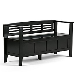 Simpli Home Adam 48-Inch Entryway Bench