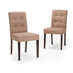 Simpli Home Andover Upholstered Dining Chairs (Set of 2)