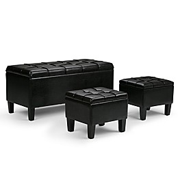 Outstanding Ottomans Benches Bed Bath Beyond Theyellowbook Wood Chair Design Ideas Theyellowbookinfo