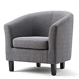 Simpli Home Austin Upholstered Tub Chair