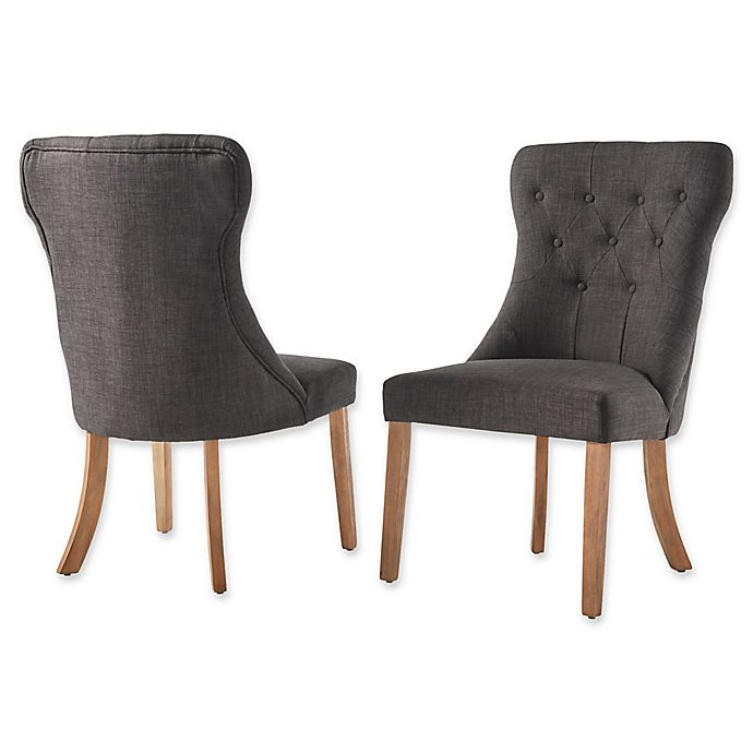 Miraculous Inspire Q Astoria Tufted Hourglass Dining Chairs Set Of 2 Ocoug Best Dining Table And Chair Ideas Images Ocougorg