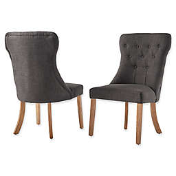 iNSPIRE Q® Astoria Tufted Hourglass Dining Chairs (Set of 2)