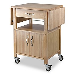 Winsome Trading Rachael Kitchen Cart in Natural