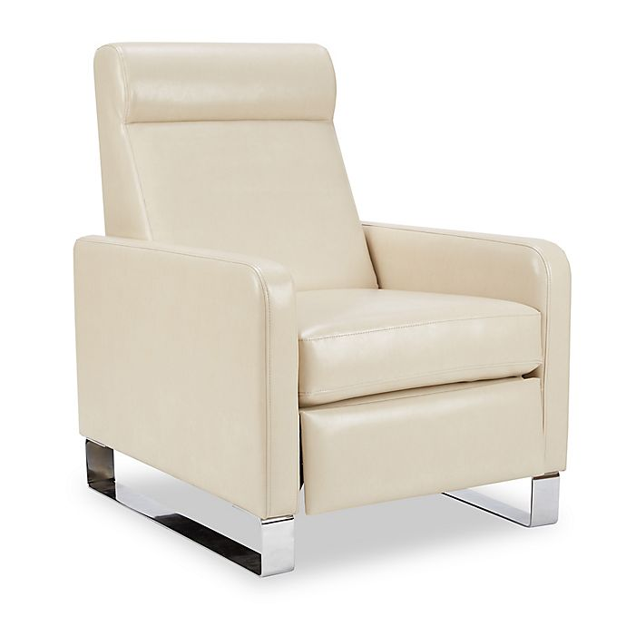 Alternate image 1 for Madison Park Percy Push-Back Recliner in Ivory