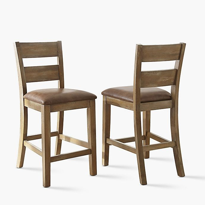 Steve Silver Co Cambrey Counter Height Dining Chairs Set Of 2