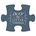WallVerbs™ Mix & Match Puzzle Wall Art  Enjoy the Little Things  Piece