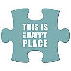 WallVerbs™ Mix & Match Puzzle Wall Art  This is Our Happy Place  Piece