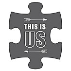 WallVerbs™ Mix & Match Puzzle Wall Art  This is Us  Piece