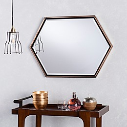 Holly & Martin® Whexis Wall Mirror in Champagne