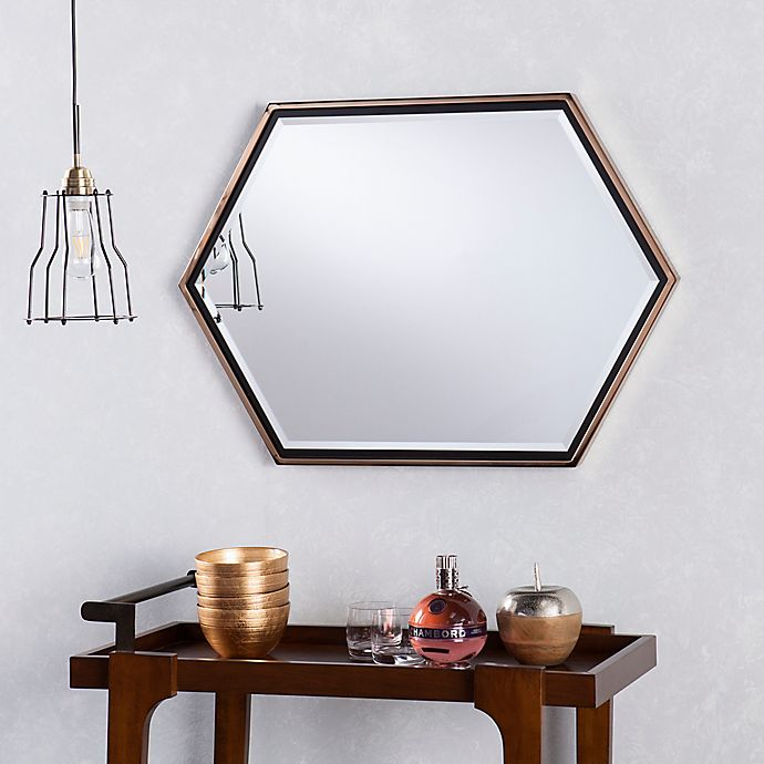 Alternate image 1 for Holly & Martin® Whexis Wall Mirror in Champagne