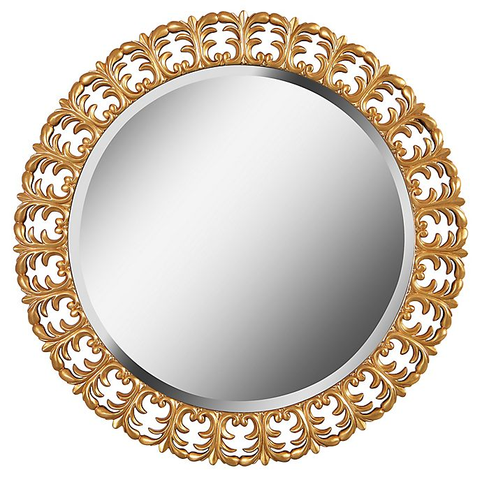 Alternate image 1 for Kenroy Home Bontemps 33-Inch Round Wall Mirror