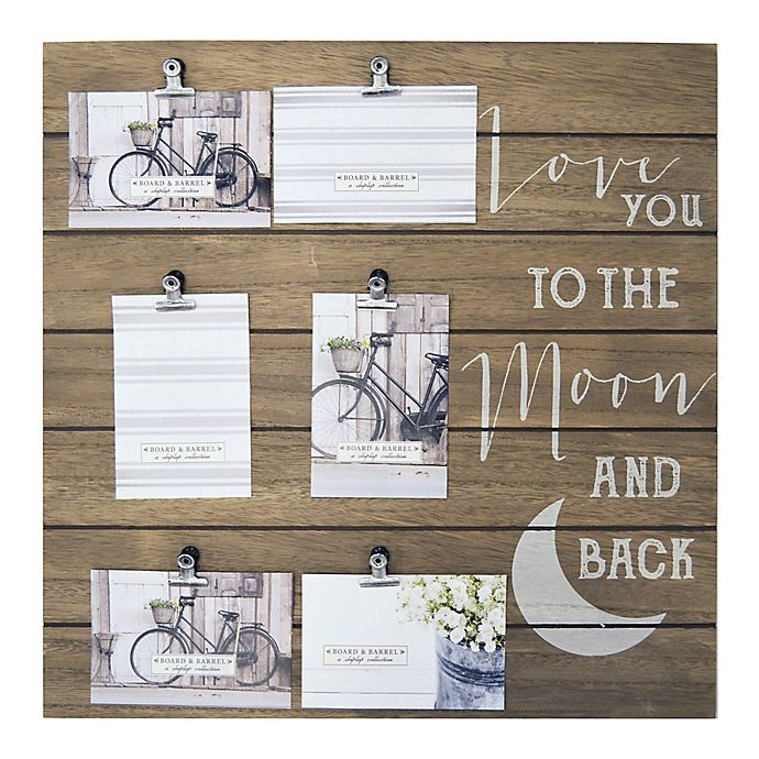 6 Opening Love You To The Moon And Back Collage Bed Bath And