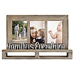 Family is Everything  Decorative Wood and Metal Frame