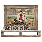 Best Dog Ever  Decorative Wood and Metal Frame